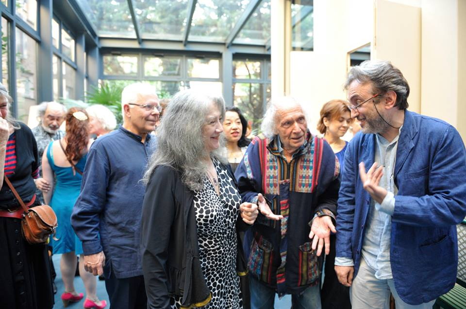 with Martha Argerich and Ivry Gitlis - Lugano 2015