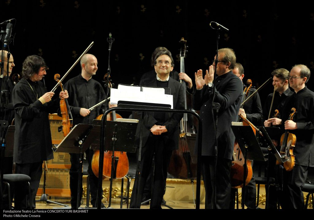 Andrea, Yury Bashmet and Moscow Soloists - Teatro La Fenice Venice - 2014