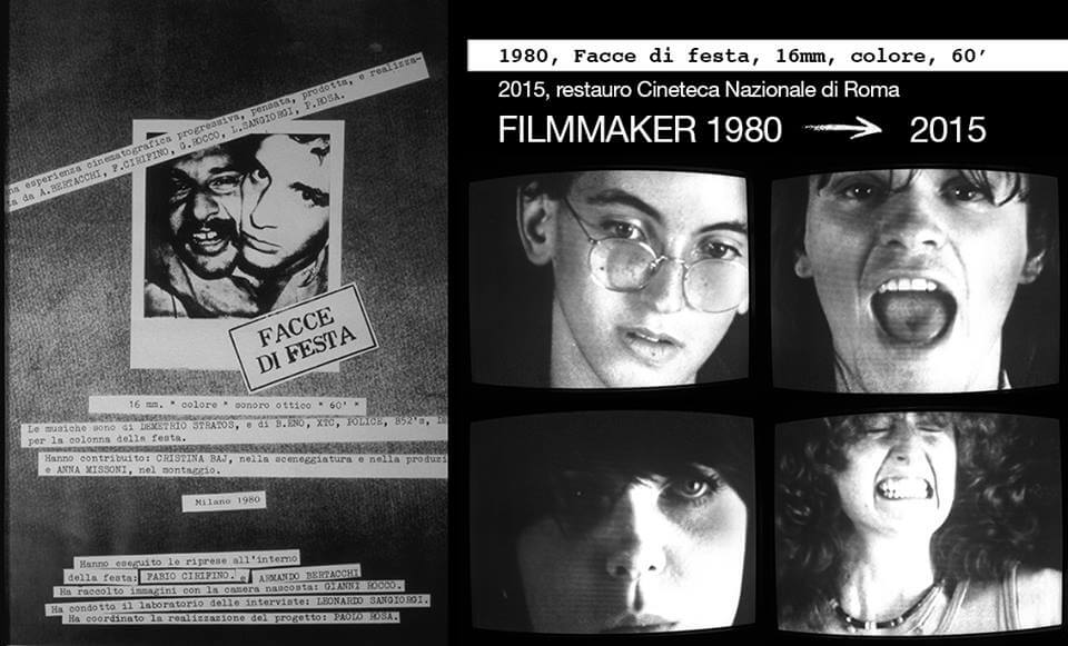 Facce di Festa, Biennale Cinema, Venice 1980