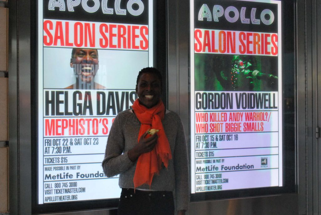 Helga Davis - Apollo Theater NYC - 2010