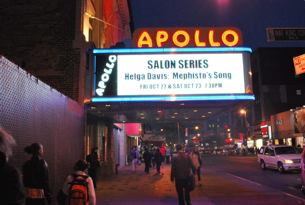 Mephisto's Songs - Apollo Theater-NYC - 2010