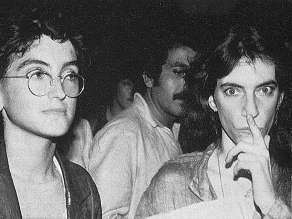 Andrea e Patti Smith - Bologna - 1979
