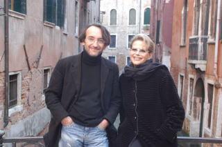 con Claudia Cardinale, Venezia 2007