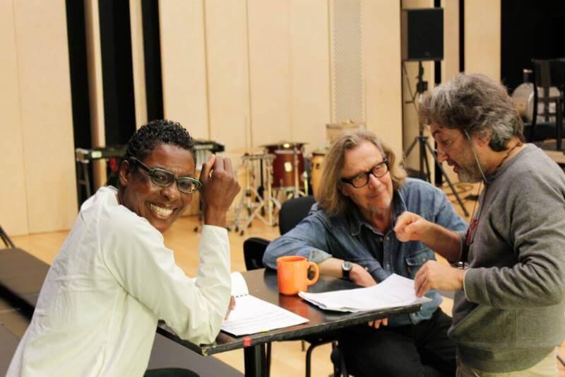 con helga Davis e Philippe Nahon, Ars Novaa Ensemble 2016