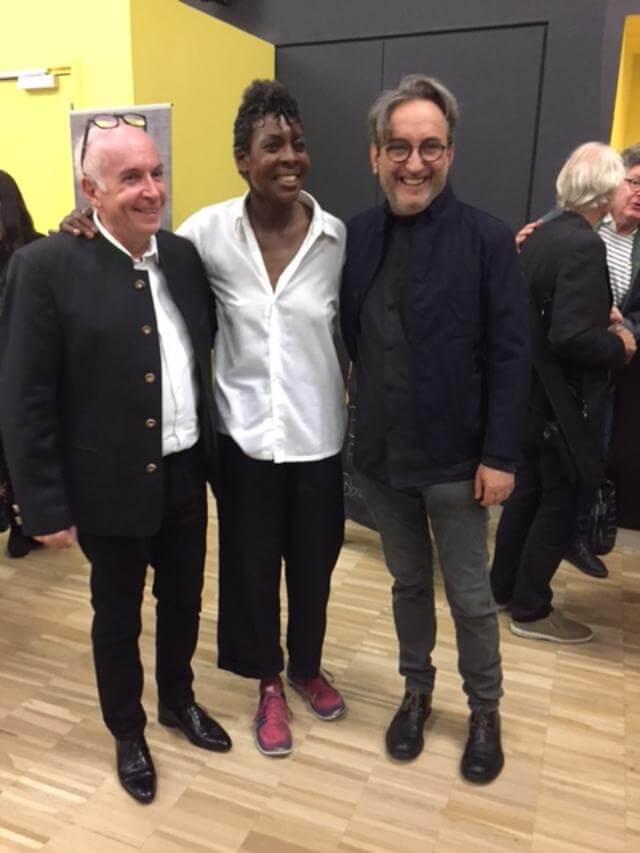 con Jean-Dominique Marco e Helga Davis - Musica Festival Strasburgo, 2017