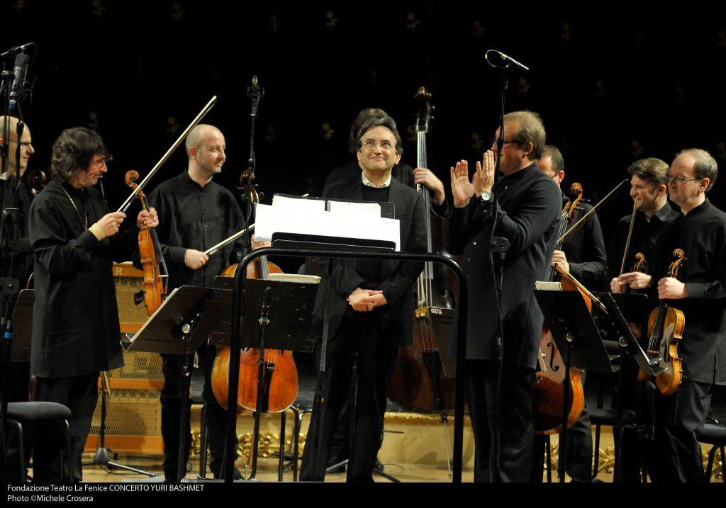 Yuri Bashmet, Andrea e i Soliti di Mosca, Teatro La Fenice, Venezia 2014