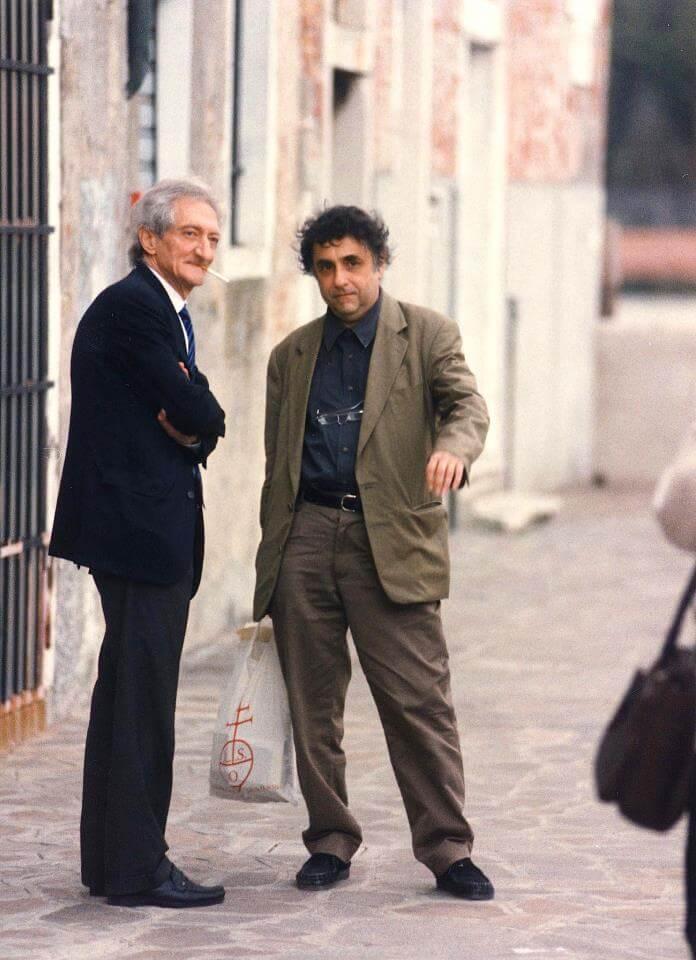 Edoardo Sanguineti e Giovanni Morelli