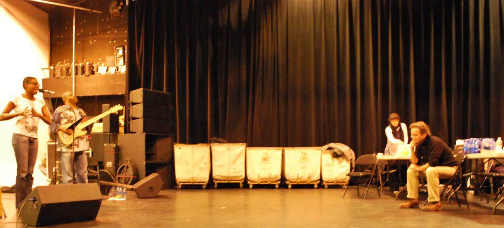 Helga, Fred Cash jr e Irene, Apollo Theatre Ny 2010