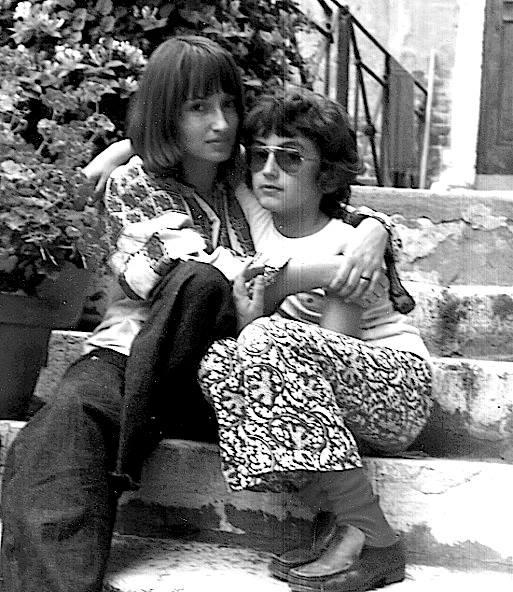 con mamma Margot